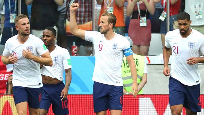 ทีมชาติอังกฤษ กำลังสนุก
